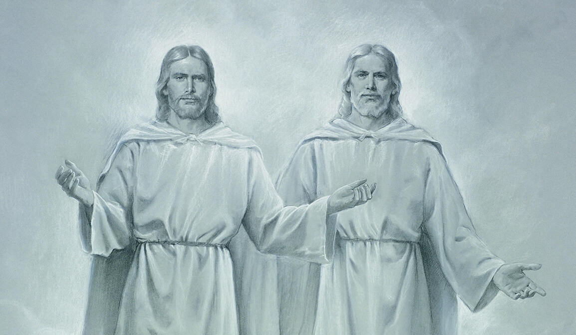 LDS art portraying the Father and Son