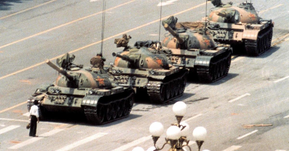 Tiananmen Square Tanks